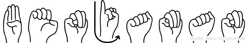 Benjaman in Fingersprache für Gehörlose