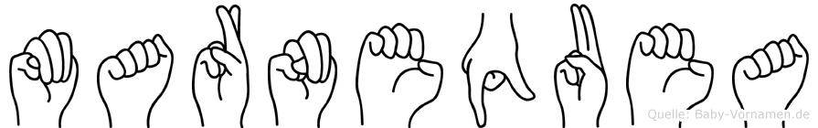 Marnequea in Fingersprache für Gehörlose