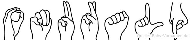 Onuralp in Fingersprache für Gehörlose