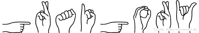 Graigory in Fingersprache für Gehörlose
