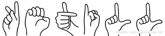Ketill in Fingersprache für Gehörlose