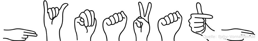 Hymavath in Fingersprache für Gehörlose