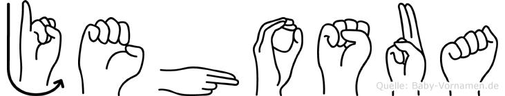 Jehosua in Fingersprache für Gehörlose