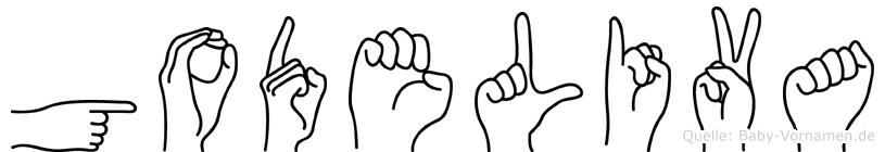 Godeliva in Fingersprache für Gehörlose