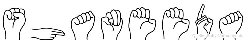 Shaneeda in Fingersprache für Gehörlose