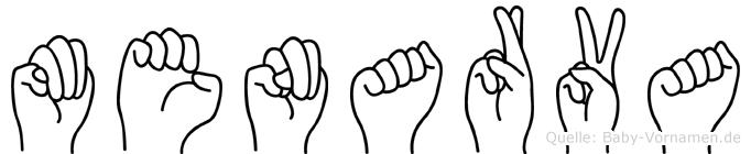 Menarva in Fingersprache für Gehörlose