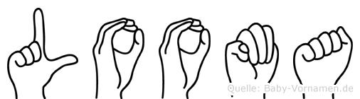 Looma in Fingersprache für Gehörlose