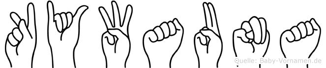 Kywauna in Fingersprache für Gehörlose