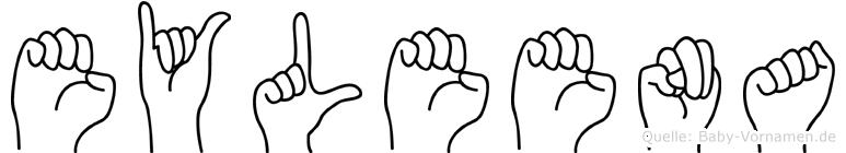 Eyleena in Fingersprache für Gehörlose