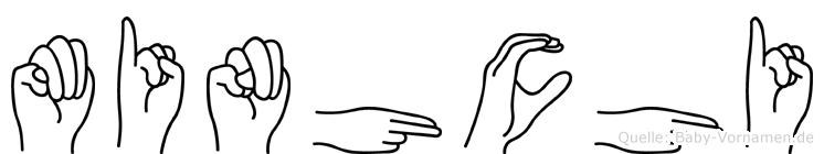 Minhchi in Fingersprache für Gehörlose