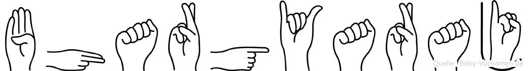 Bhargyaraj in Fingersprache für Gehörlose
