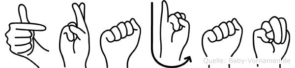 Trajan in Fingersprache für Gehörlose