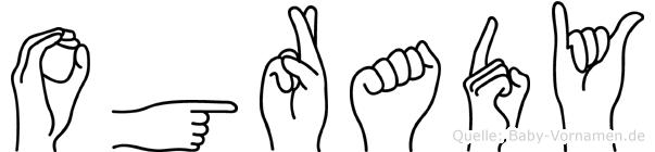 Ogrady in Fingersprache für Gehörlose