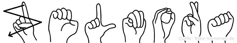Zelmora in Fingersprache für Gehörlose