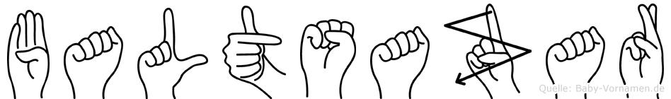 Baltsazar in Fingersprache für Gehörlose