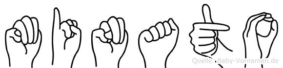 Minato in Fingersprache für Gehörlose