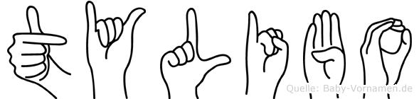 Tylibo in Fingersprache für Gehörlose