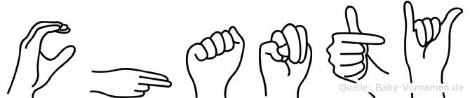 Chanty in Fingersprache für Gehörlose
