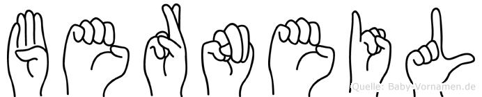 Berneil in Fingersprache für Gehörlose