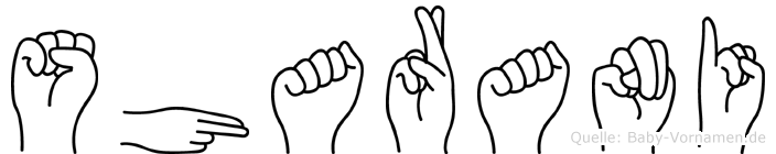 Sharani in Fingersprache für Gehörlose