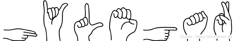 Hylegar in Fingersprache für Gehörlose