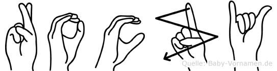 Roczy in Fingersprache für Gehörlose