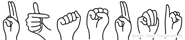 Utasumi in Fingersprache für Gehörlose