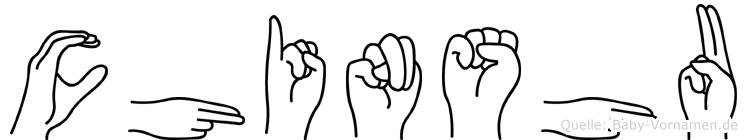 Chinshu in Fingersprache für Gehörlose