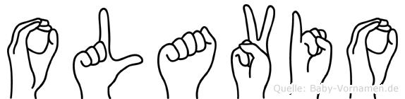 Olavio in Fingersprache für Gehörlose