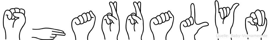Sharralyn in Fingersprache für Gehörlose