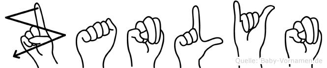 Zanlyn in Fingersprache f�r Geh�rlose