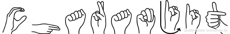 Charanjit im Fingeralphabet der Deutschen Gebärdensprache