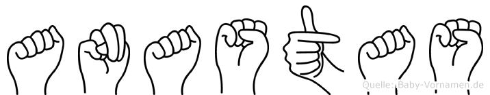 Anastas in Fingersprache für Gehörlose