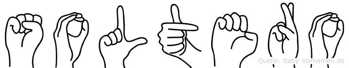 Soltero im Fingeralphabet der Deutschen Gebärdensprache