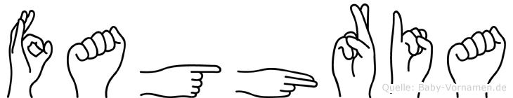 Faghria in Fingersprache für Gehörlose