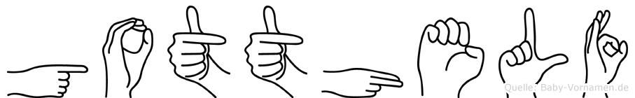 Gotthelf in Fingersprache für Gehörlose