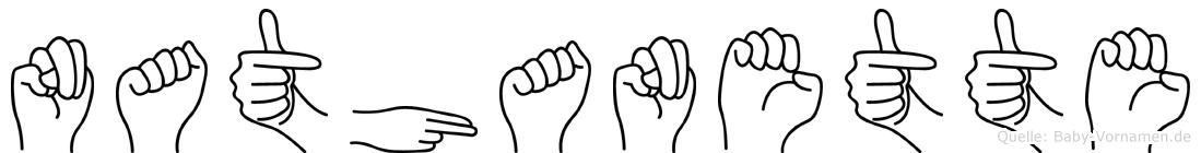 Nathanette in Fingersprache für Gehörlose