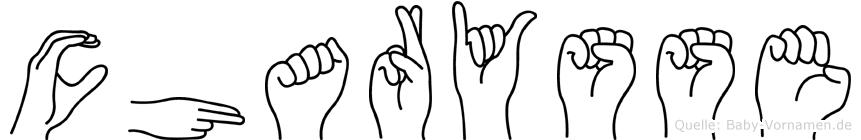 Charysse in Fingersprache für Gehörlose
