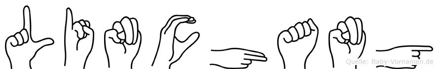 Linchang in Fingersprache für Gehörlose