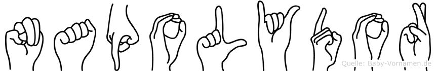 Napolydor in Fingersprache für Gehörlose