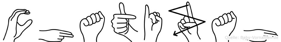 Chatizah in Fingersprache für Gehörlose