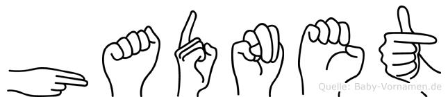 Hadnet in Fingersprache für Gehörlose
