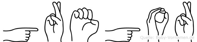 Gregor in Fingersprache für Gehörlose