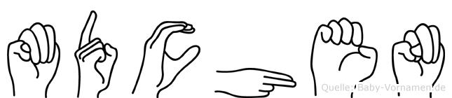 Mädchen im Fingeralphabet der Deutschen Gebärdensprache