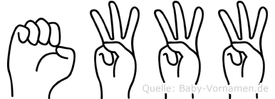 Ewww in Fingersprache für Gehörlose
