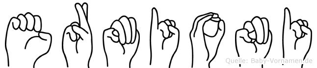 Ermioni in Fingersprache für Gehörlose