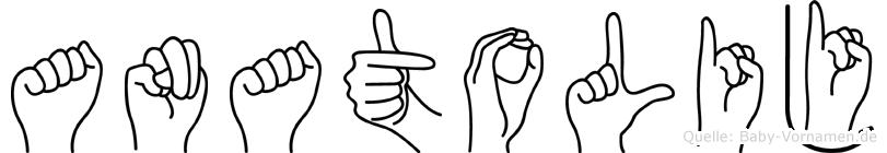 Anatolij in Fingersprache für Gehörlose