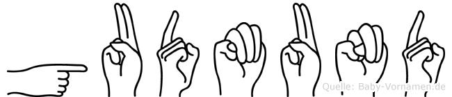 Gudmund in Fingersprache für Gehörlose
