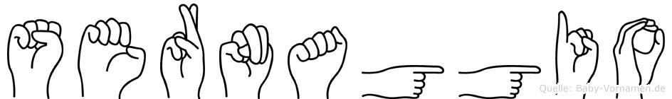 Sernaggio in Fingersprache für Gehörlose