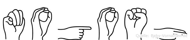 Mogosh in Fingersprache für Gehörlose